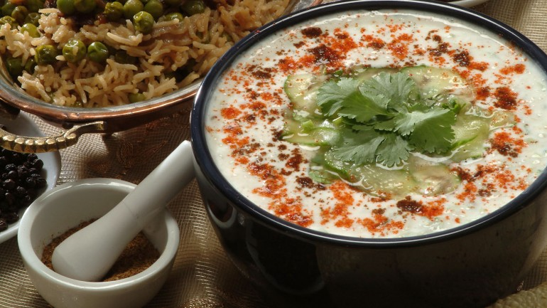 Yoghurt with Cucumber –Kheera ka Raitha Yoghurt with Cucumber –Kheera ka Raitha